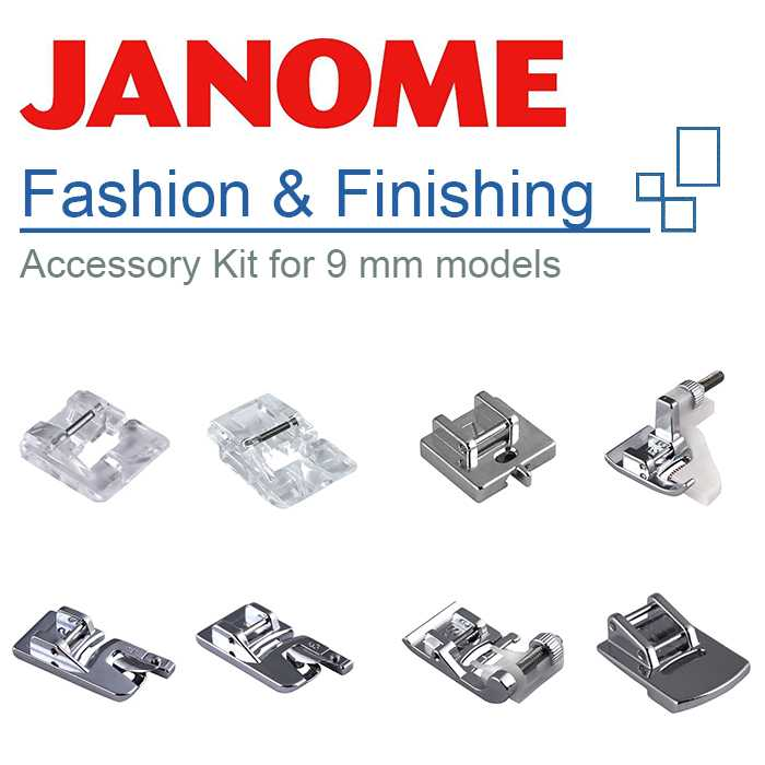 Kit Mode pour machines 9 mm Janome