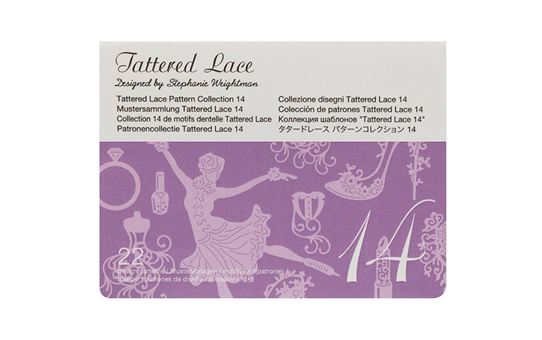 Collection n° 14 de 21 motifs dentelle Tattered Lace