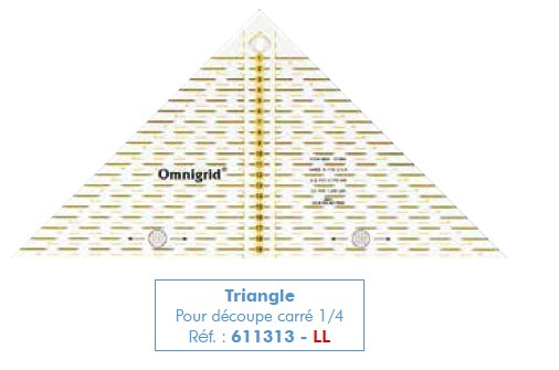 Règle triangle