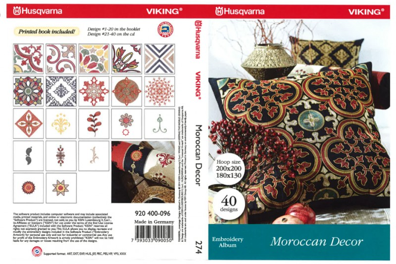 CD 274 Moroccan Decor