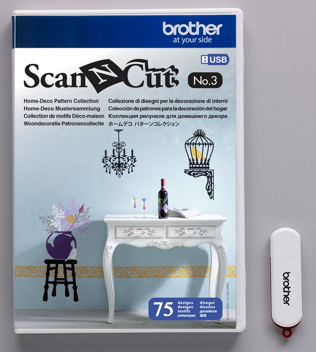 Motifs pour Quilting N° 3 pour ScanNCut Brother