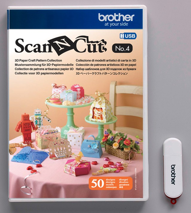 Motifs pour Quilting N° 4 pour ScanNCut Brother