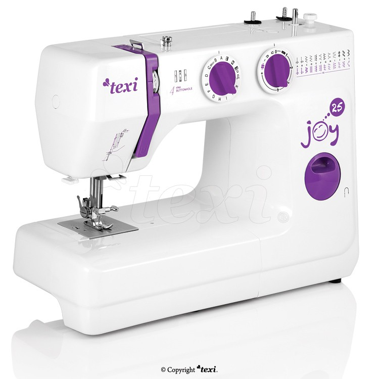 Machine coudre texi joy 25 machines coudre for Machine a coudre 93