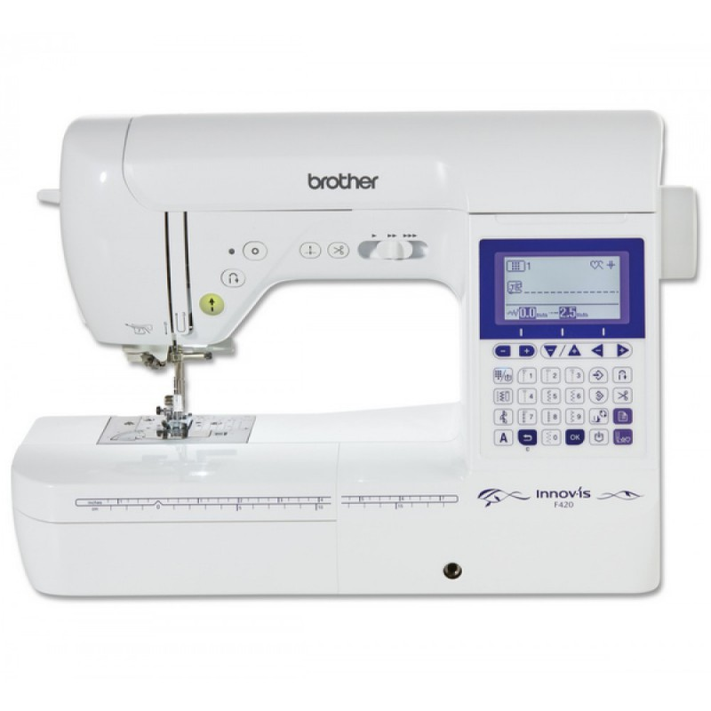 Machine à coudre BROTHER Innov-Is F420 + Kit quilting QKF3 OFFERT!!!