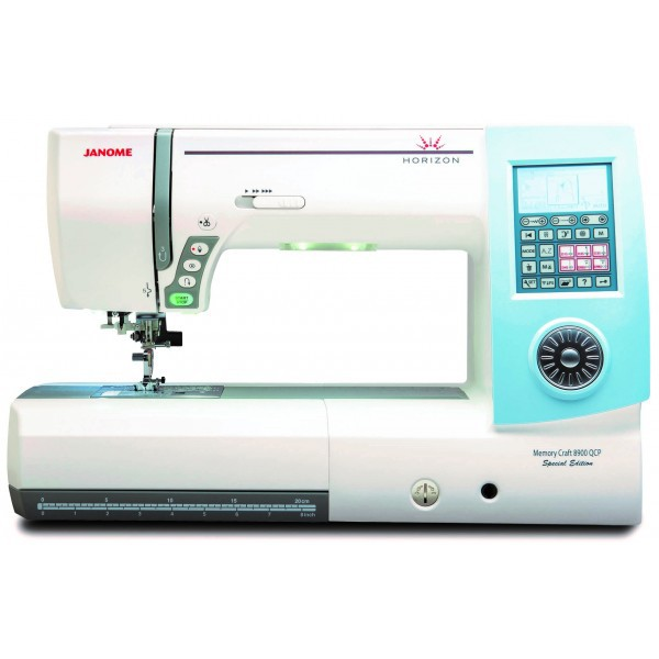 JANOME Horizon Memory Craft 8900 QCP SE Special