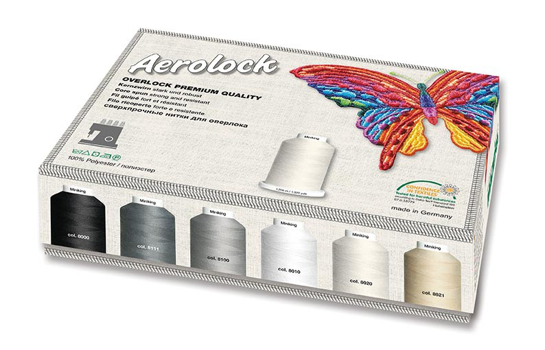 Aerolock N°125 pour couture et quilting