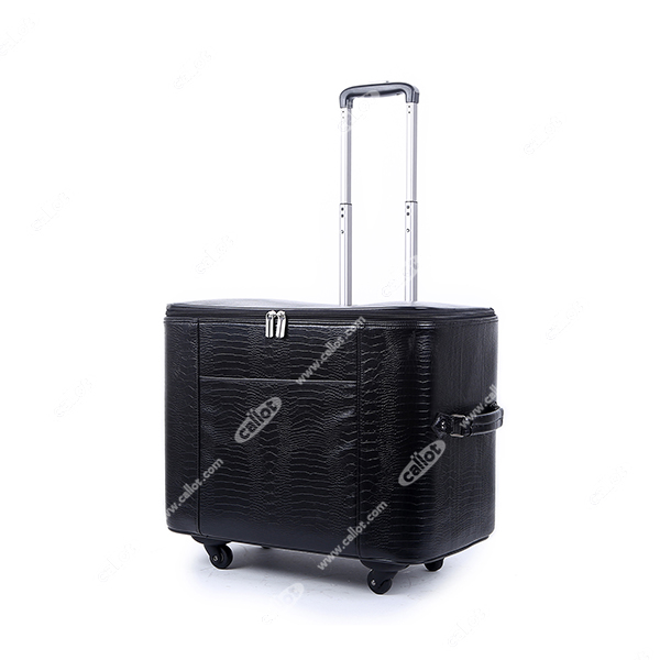 Trolley Simili cuir Croco