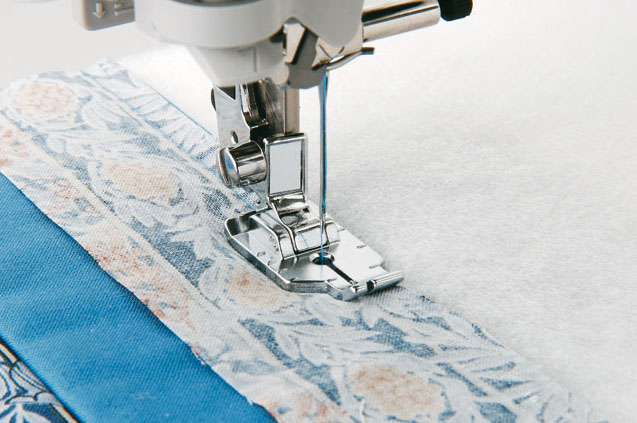 "Pied quilting 1/4"" Brother"