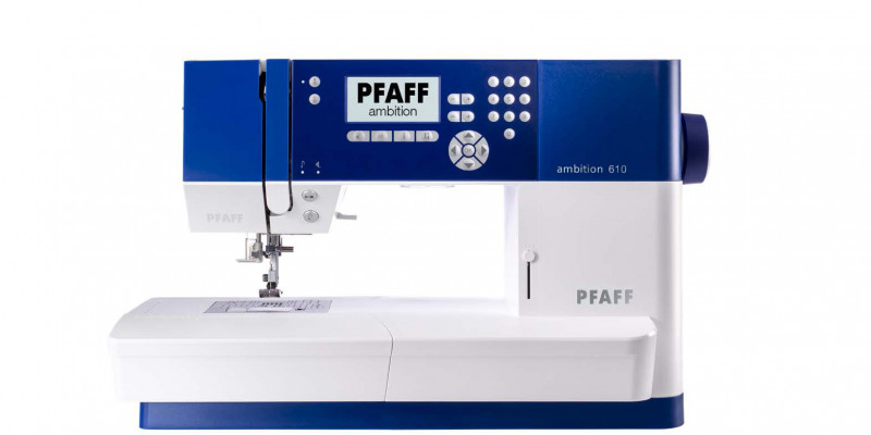 PFAFF Ambition 610 +Table d'extension + Set de couture n°3 offert